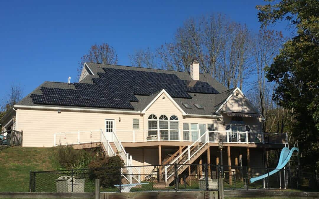 SunPower Roof Mounted Residential Solar