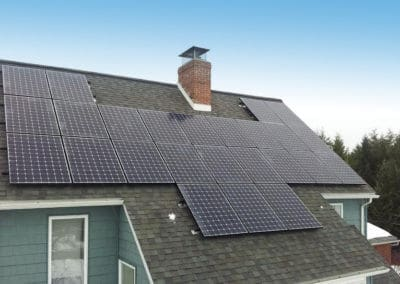 Solar Panel installation for home in Centre County