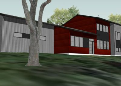 Modern Contemporary energy efficient home in State College, PA
