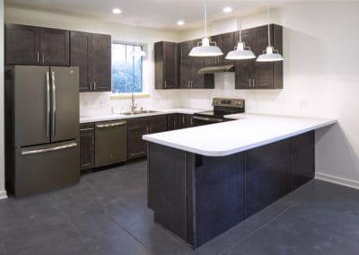 Greenbuild Energy Efficient Duplex Kitchen Renovation in State College, PA