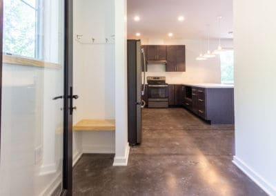 Greenbuild Energy Efficient Duplex kitchen design in State College, PA