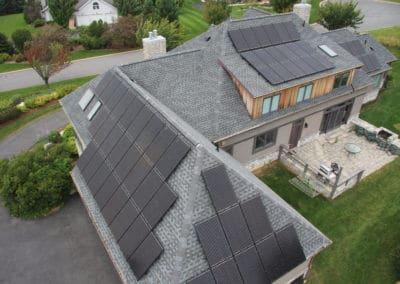 Sunpower solar panels rooftop solar photovoltaic array