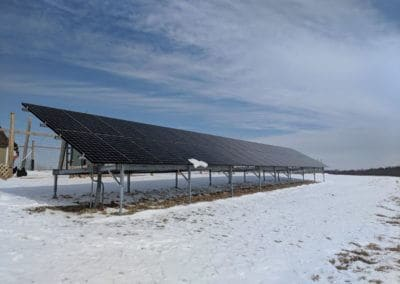 Commercial ground mount solar system Dubois, PA