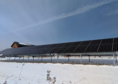Solar panels for farms ground mount