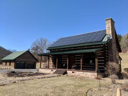 10.26 kW Residential Solar System, Sinnemahoning PA