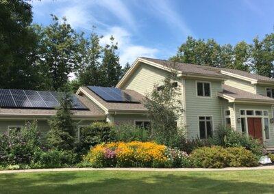 SunPower Roof Mounted Residential solar panels