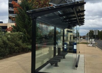 Solar Canopies on Penn State University campus roof mounted solar for residential solar panels