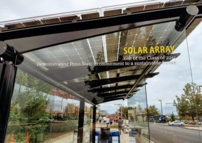 PSU Senior Gift Solar Bus Stop