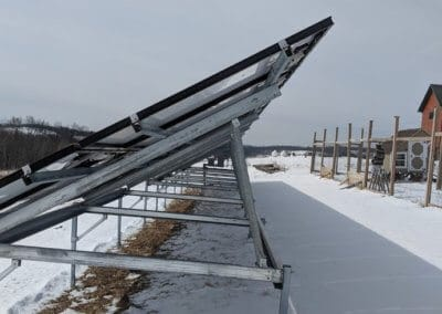 Agriculture Farm Ground Mount Solar Panels