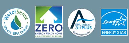 WaterSense Zero energy home ready and energstar