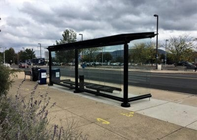 CATA Penn State University Bus Stop Solar Panels