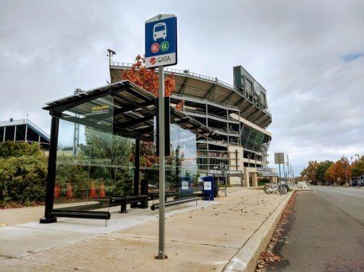 PSU Solar Bus Stop