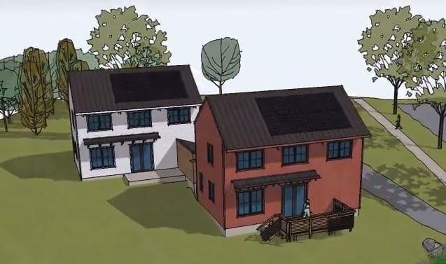 State College Greenbuild Net-Zero Duplex Comes to Life