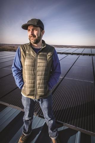 Organic Climbing Commercial Solar