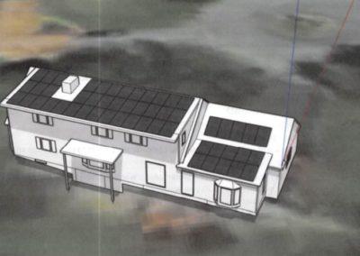 Residential Solar Rendering