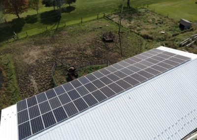 Agricultural Solar – Barn Rooftop – Berlin, PA