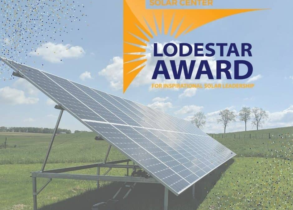 PA Solar Center Lodestar Award