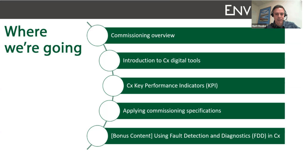 How to Maximize the value of Commissioning